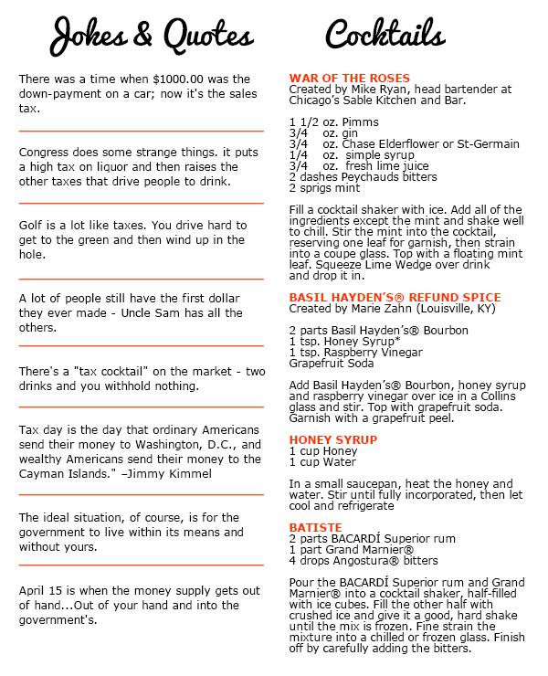Bartending Guide For Dummies